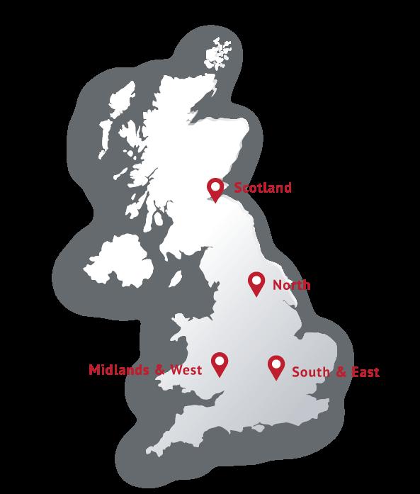 Headland Locations Map